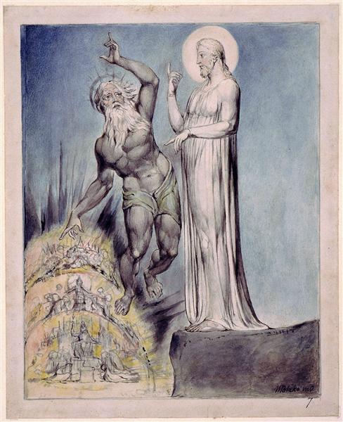 Illustration to Milton`s Comus, 1816 - 1820 - William Blake