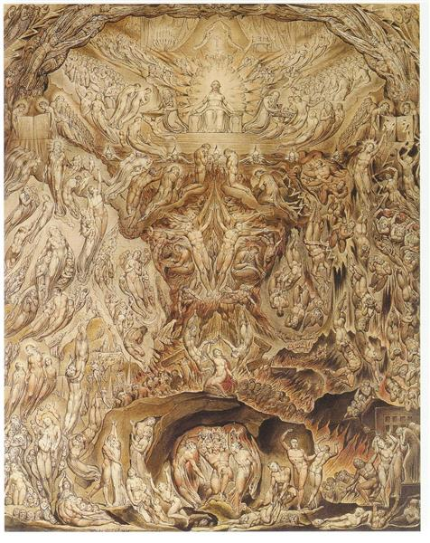 Last Judgement, 1808 - Вільям Блейк