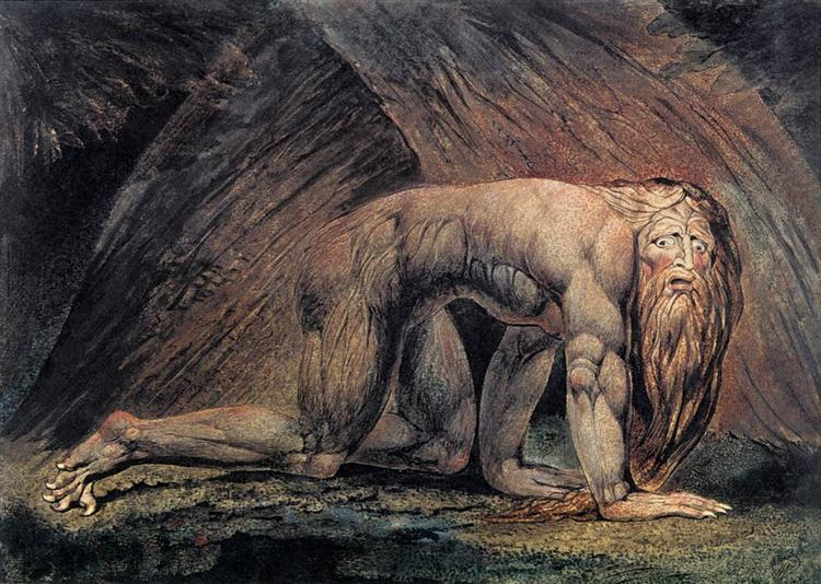 Nebuchadnezzar, 1795 - William Blake