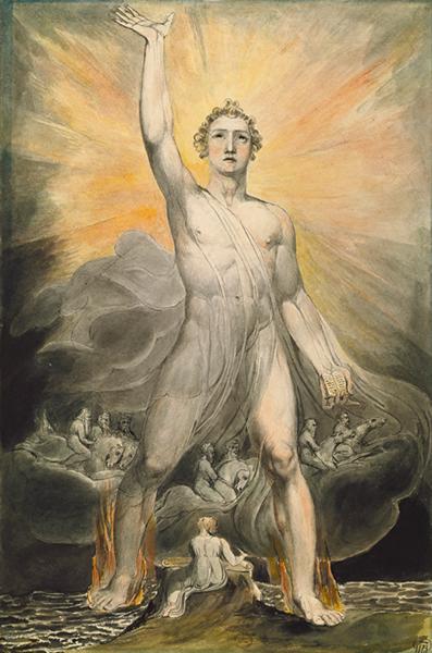 The Angel of Revelation, 1803 - 1805 - William Blake