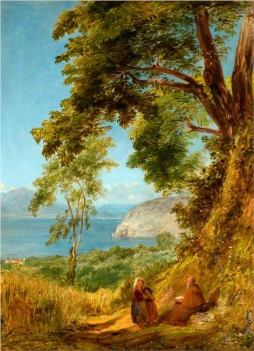 Sorrento. Bay of Naples  - William Collins