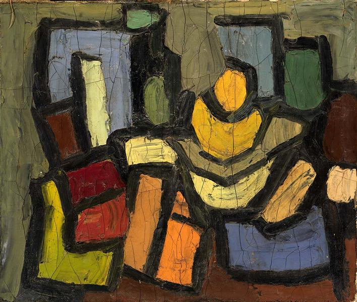 Still Life, 1938 - William H. Johnson