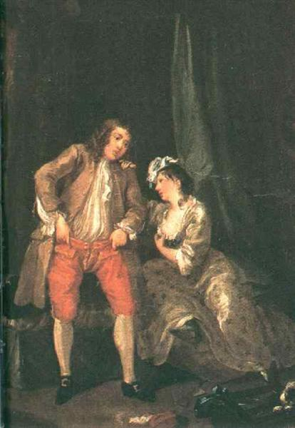 Before the Seduction and After, 1731 - William Hogarth