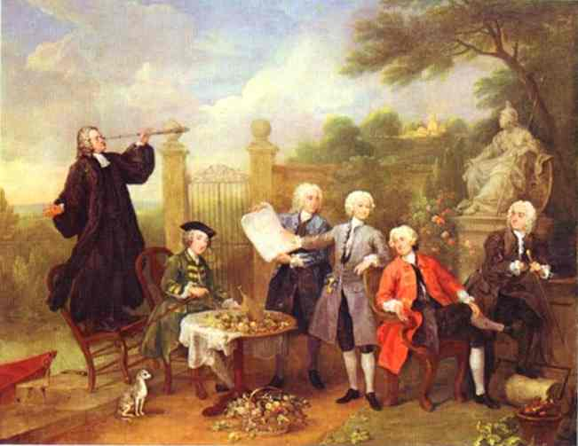Lord Hervey and His Friends, c.1738 - c.1739 - William Hogarth
