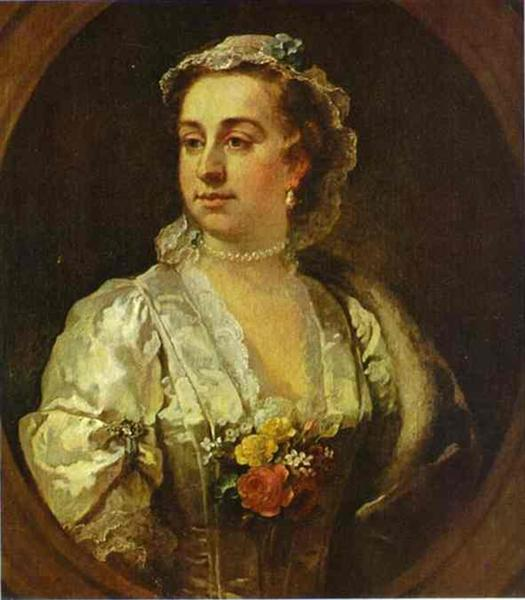 Mrs  Catherine Edwards, 1739 - William Hogarth