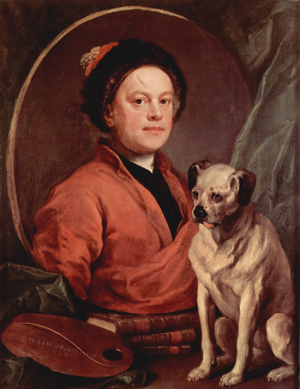 peintres anglais du XVIIIème siècle Self-portrait-1745