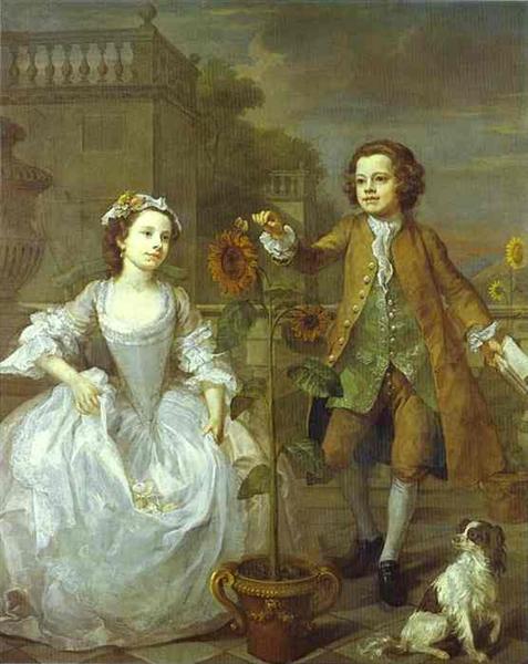 The Mackinen Children, 1747 - William Hogarth