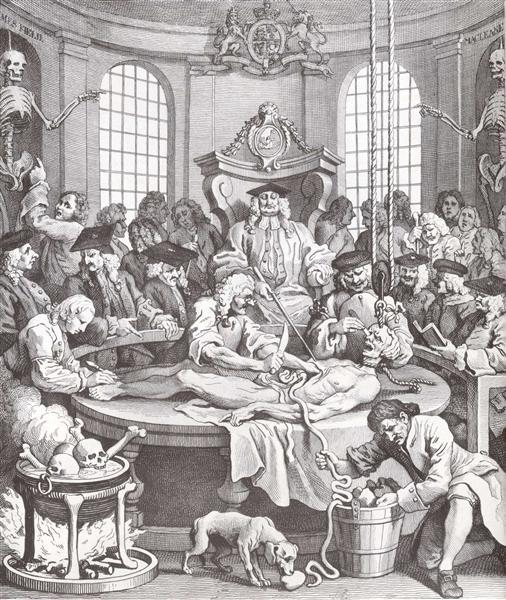 The Reward of Cruelty, 1751 - William Hogarth