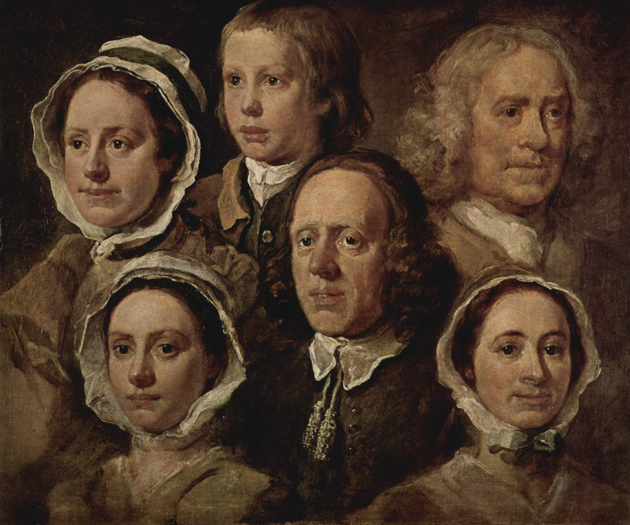 The servants of the painter - William Hogarth - WikiArt