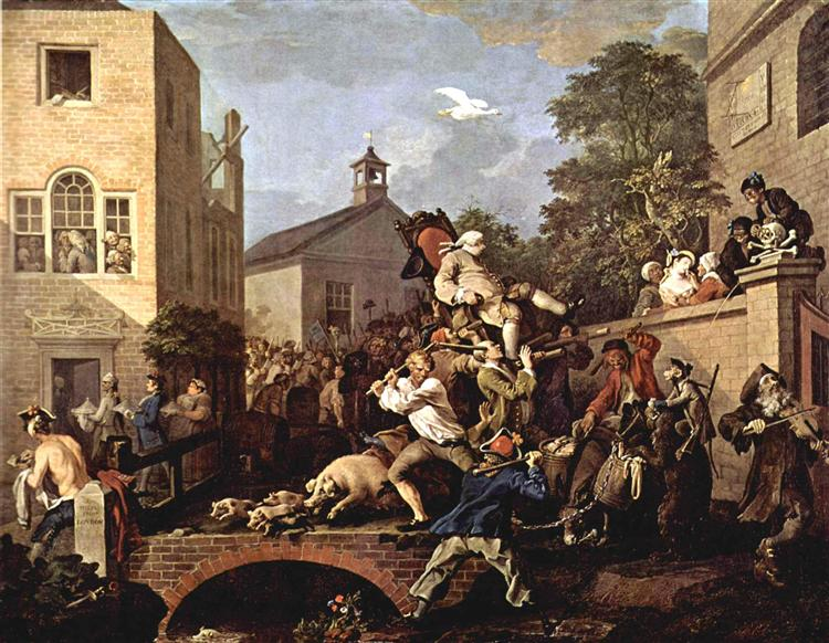 The triumph of Representatives, 1754 - 1755 - William Hogarth