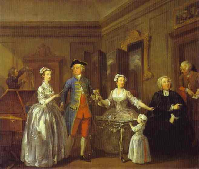 The Western Family - William Hogarth