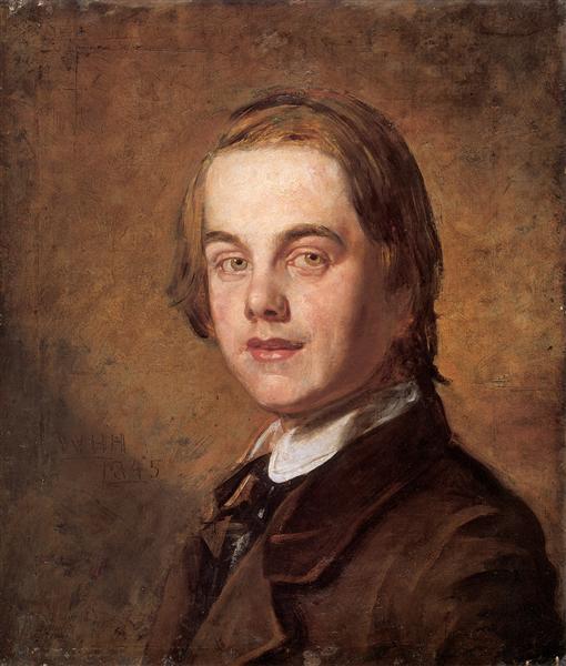 Self-Portrait, 1845 - William Holman Hunt