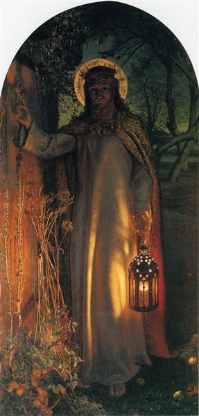 The Light of the World, 1851 - William Holman Hunt