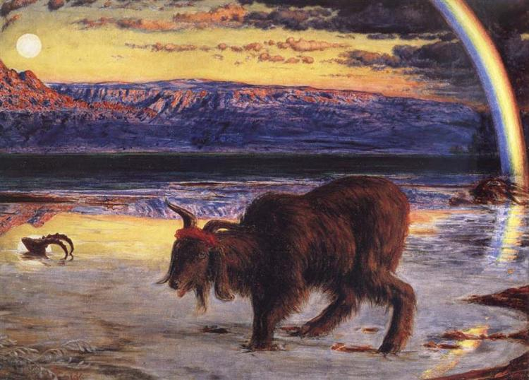 The Scapegoat, 1854 - William Holman Hunt