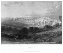 Bethlehem engraving by William Miller after Leitch - Вільям Лейтон Лейтч