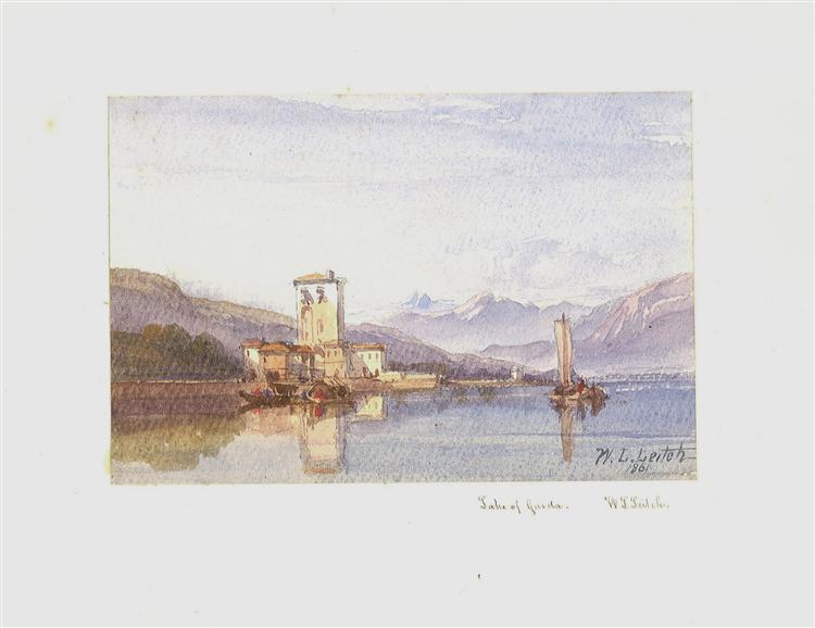 Lake of Garda, 1861 - William Leighton Leitch