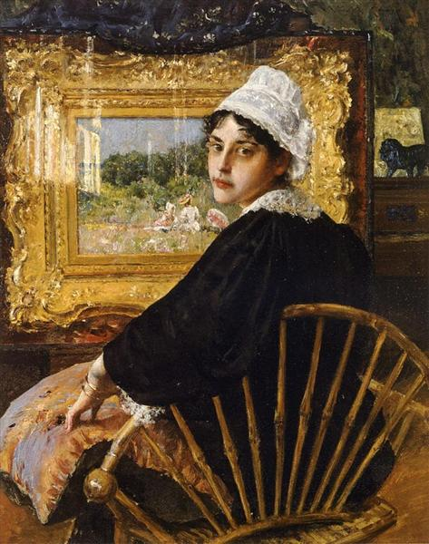 A Study (The Artist's Wife), 1892 - William Merritt Chase
