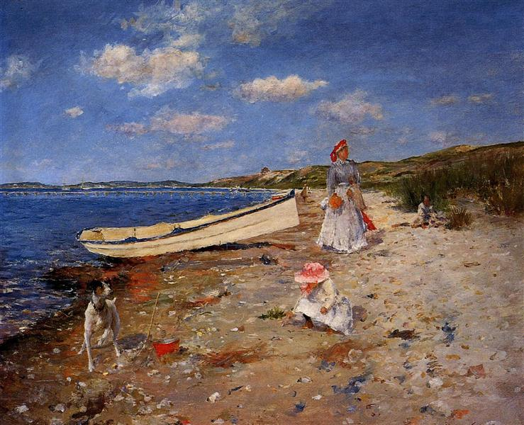 A Sunny Day at Shinnecock Bay, 1892 - William Merritt Chase