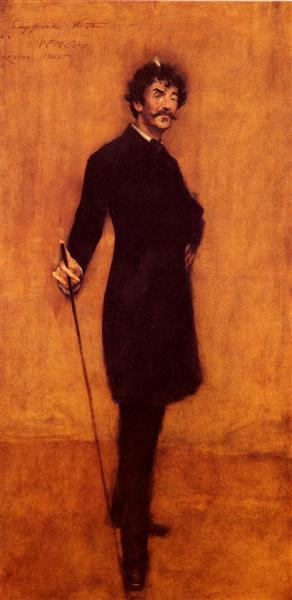 James Abbott McNeill Whistler, 1885 - William Merritt Chase