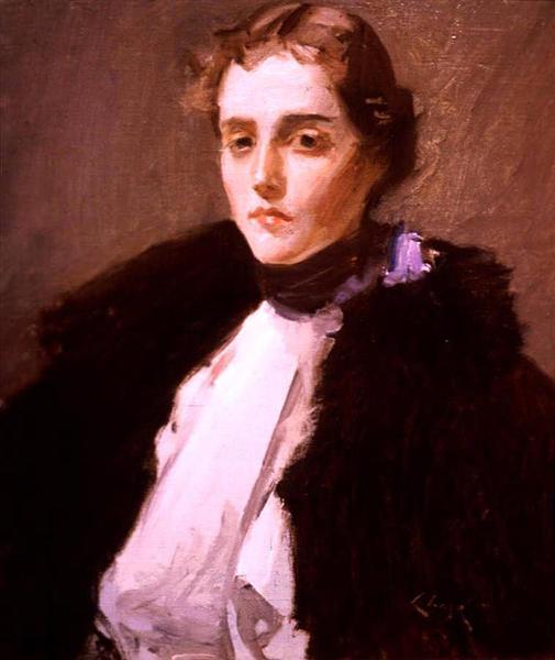 Portrait of Fra Dana, 1897 - William Merritt Chase