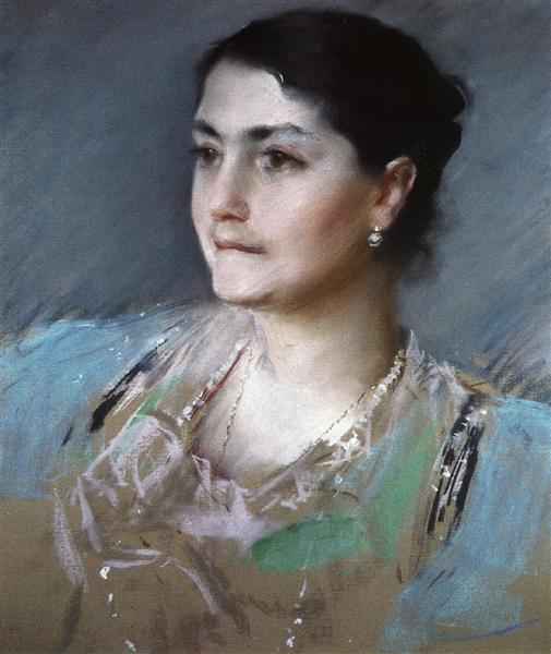 Portrait of Mrs. William Chase, 1900 - William Merritt Chase