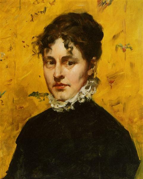 Portrait of the Artist's Sister-in-Law - William Merritt Chase