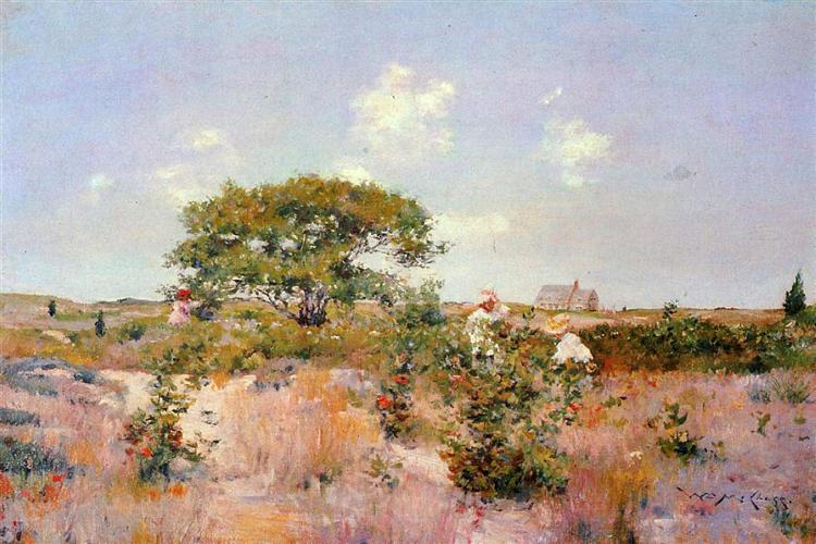 Shinnecock Landscape, 1892 - William Merritt Chase