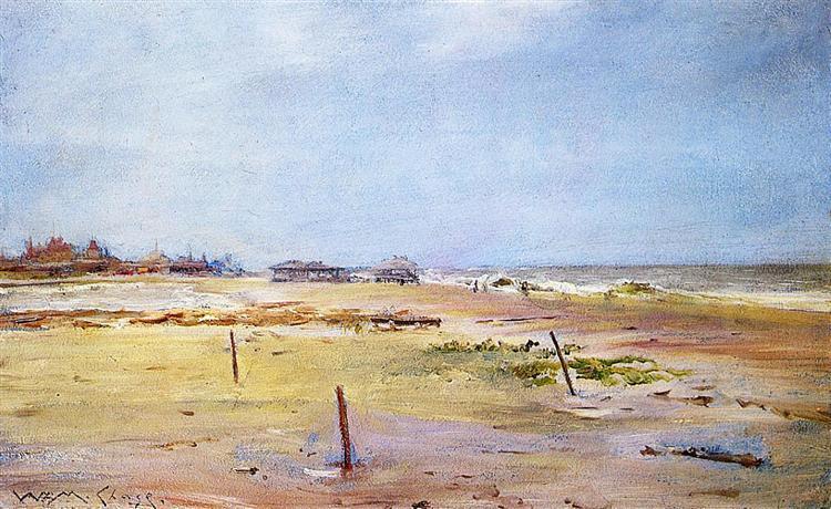 Shore Scene, c.1881 - c.1886 - William Merritt Chase