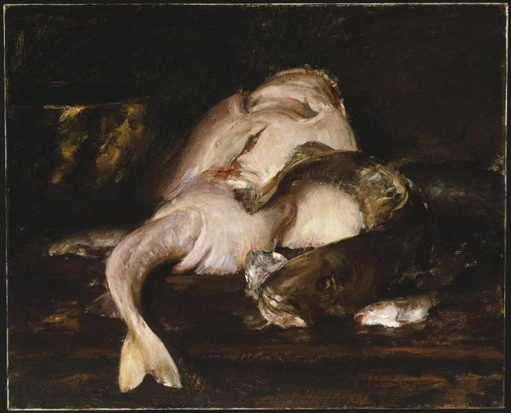 Still Life, Fish, 1912 - William Merritt Chase