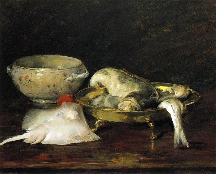Still Life with Fish, 1908 - William Merritt Chase