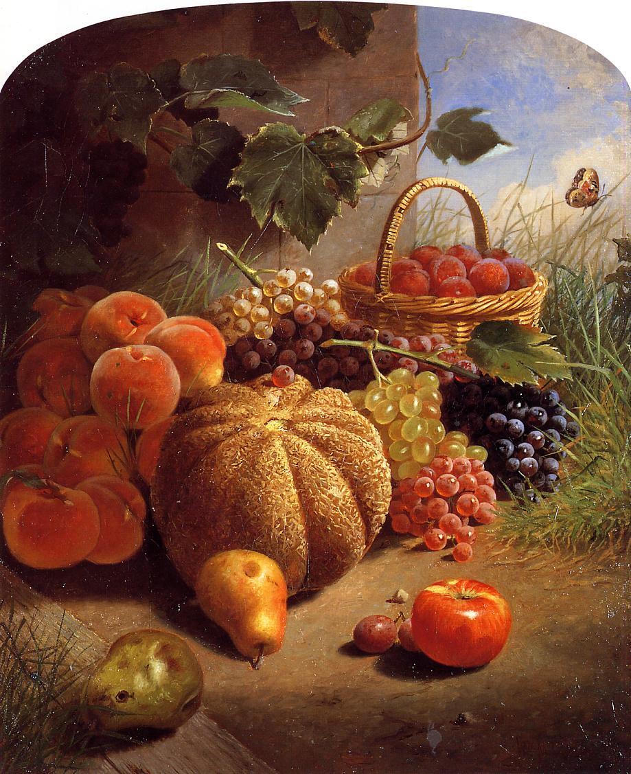Still Life with Fruit, 1871 - William Merritt Chase ...
