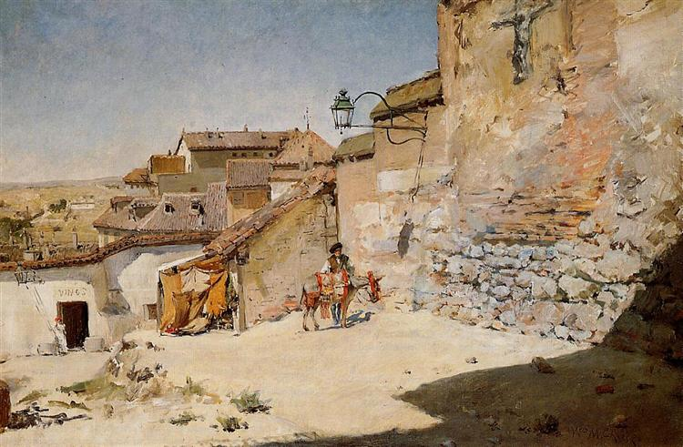 Sunny Spain, 1882 - William Merritt Chase