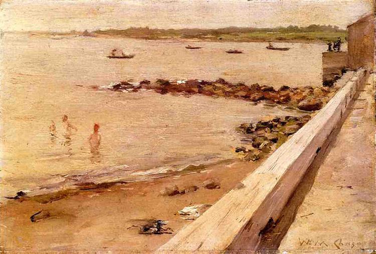 The Bathers - William Merritt Chase