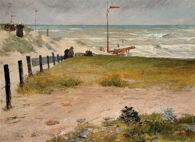 The Coast of Holland, 1884 - William Merritt Chase