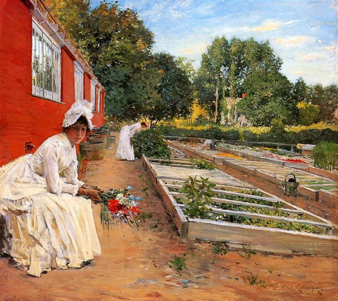 The Nursery, 1890 - William Merritt Chase