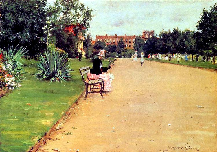 The Park, 1887 - William Merritt Chase