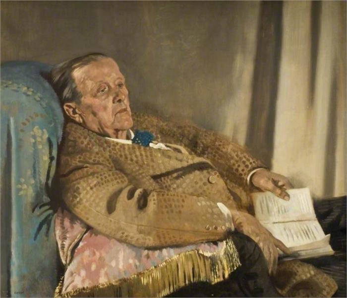 Sir Edwin Ray Lankester, 1928 - William Orpen
