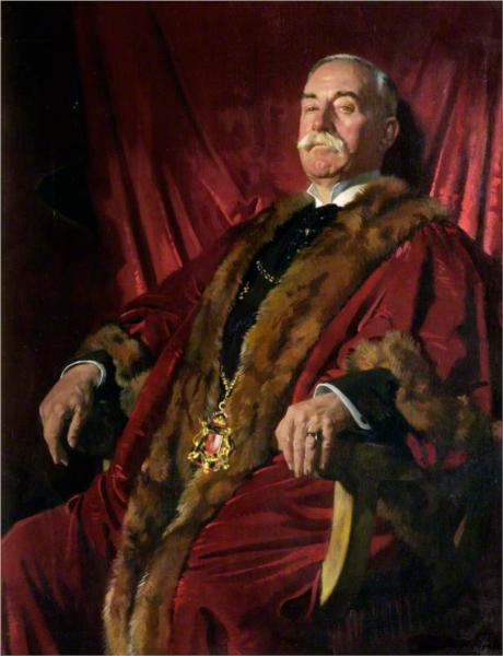 Sir William Meff, Lord Provost of Aberdeen, 1925 - William Orpen