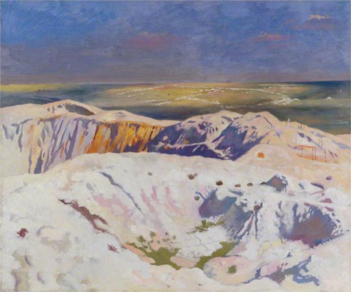 The Big Crater, 1917 - William Orpen