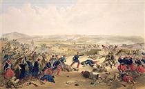 Battle of the Tchernaya, August 16th 1855 - Вільям Сімпсон