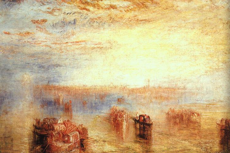 Approach to Venice, 1843 - J.M.W. Turner