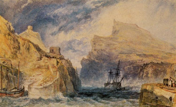 Boscastle, Cornwall - William Turner