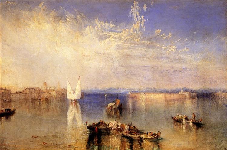 Campo Santo, Venice, 1842 - J.M.W. Turner