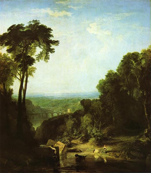 Crossing the Brook, 1815 - J.M.W. Turner