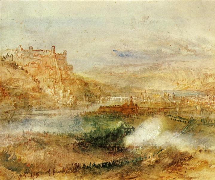 Ehrenbreitstein and Coblenz, 1840 - J.M.W. Turner
