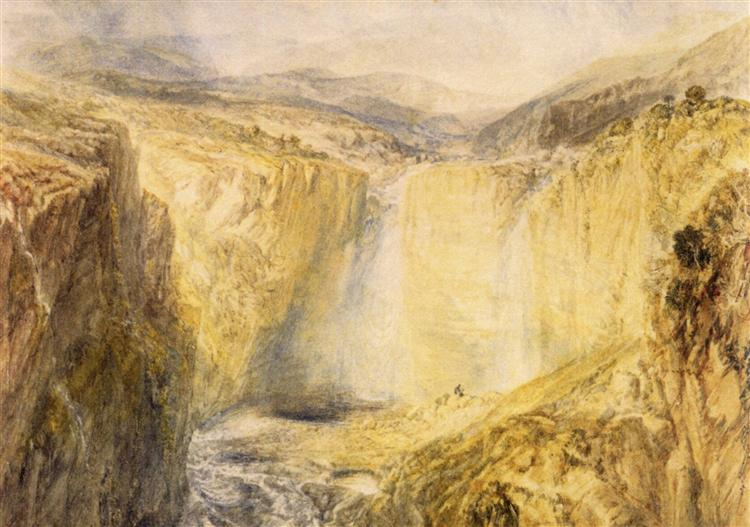 Fall of the Trees, Yorkshire, c.1825 - c.1826 - J.M.W. Turner