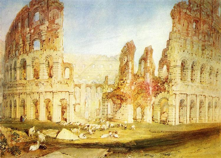 Rome, The Colosseum, 1820 - J.M.W. Turner