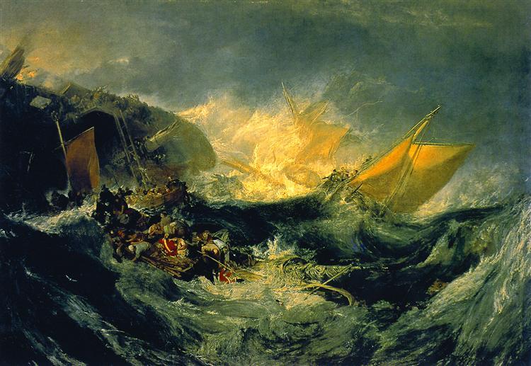 Shipwreck - J.M.W. Turner