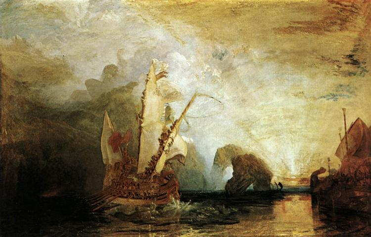 Ulysses Deriding Polyphemus, c.1848 - William Turner