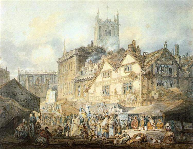 Wolverhampton, Staffordshire, 1796 - Joseph Mallord William Turner